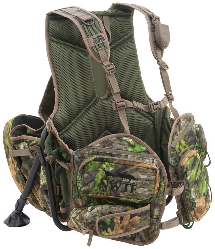 Alps Outdoors Grand Slam Turkey Vest, Mossy Oak Obsession