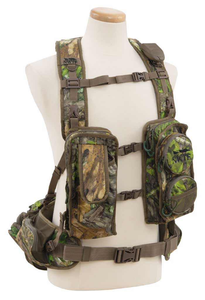 Alps Outdoors Long Spur Turkey Vest, Mossy Oak Obsession