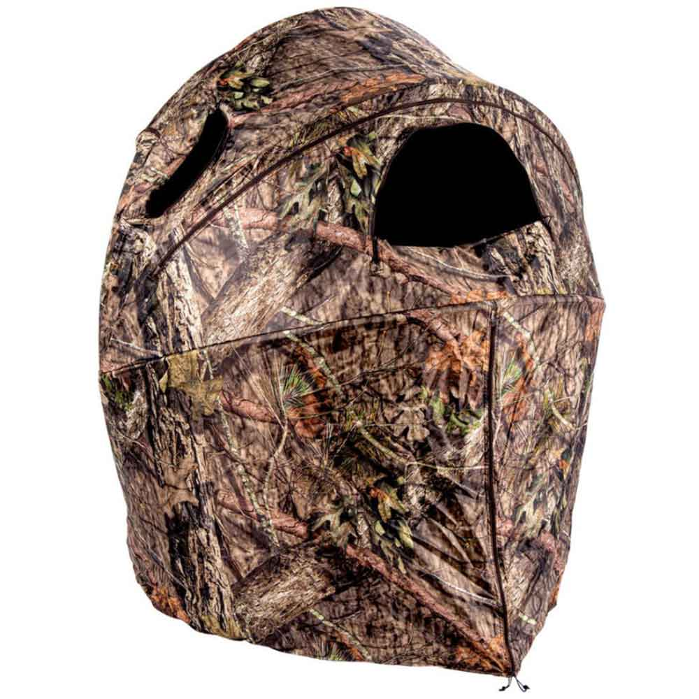 Ameristep Deluxe Tent Chair Blind, Mossy Oak Buck Country