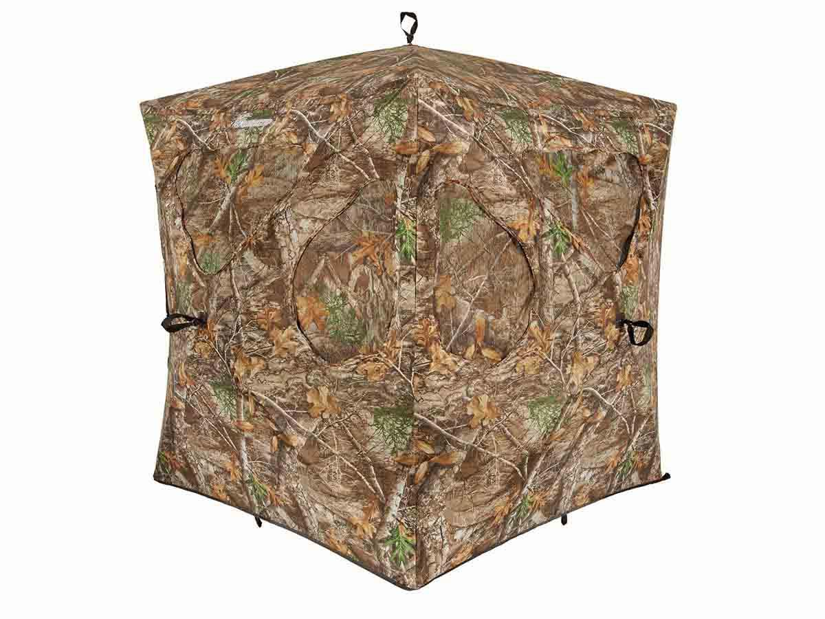 Ameristep Silent Brickhouse Ground Blind, Realtree Edge_1.jpg