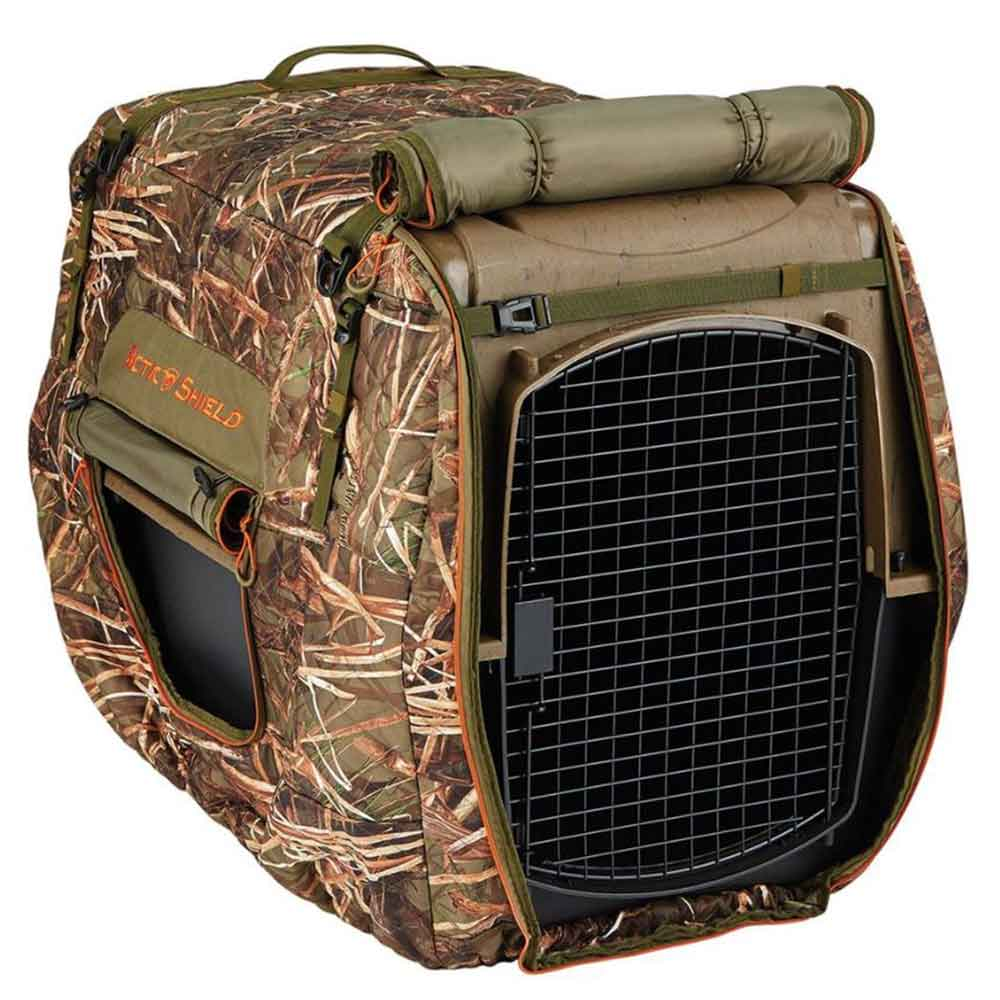 Arctic Shield Insulated Kennel Cover, Muddy Water_1.jpg