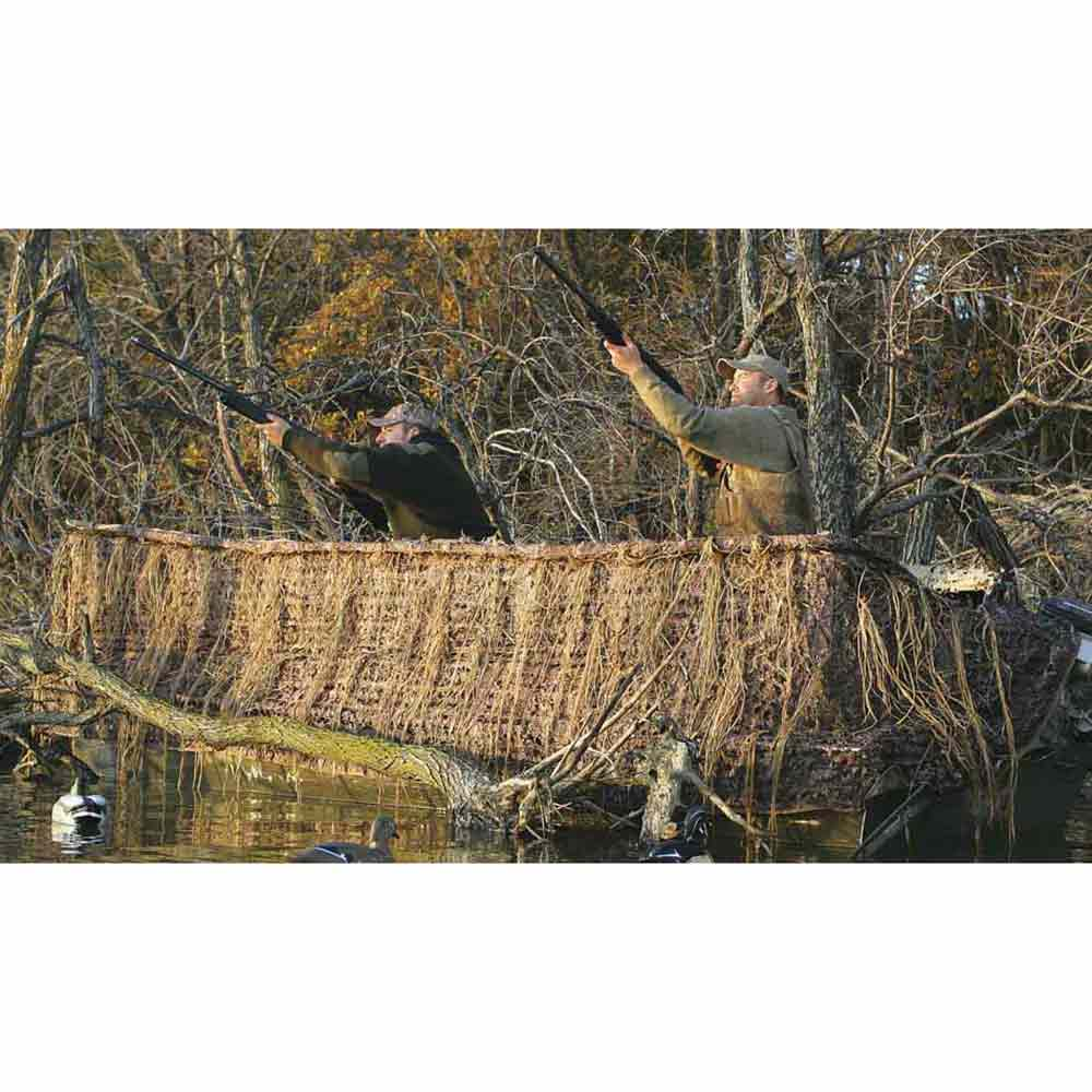 Avery Quick-Set Boat Blind Kit - Mossy Oak Blades
