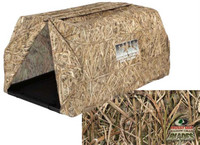 Avery GHG Ground Force Dog Blind in Mossy Oak Shadow Grass Blades