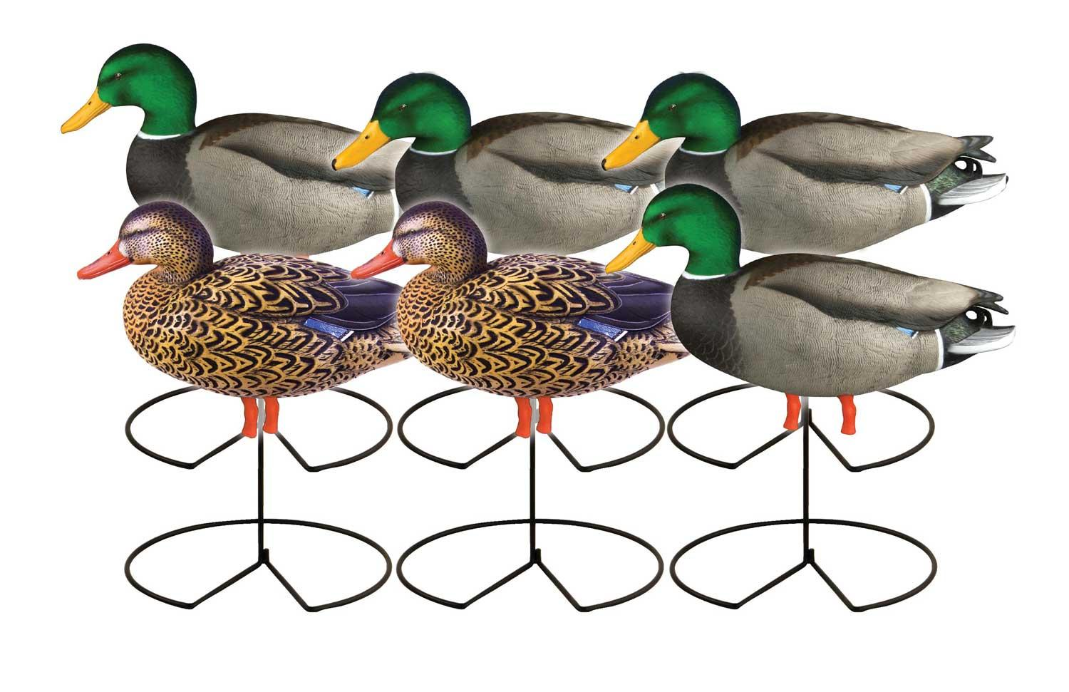 Avery GHG Pro-Grade™ Full Body Mallard Actives 6 Pack_1.jpg
