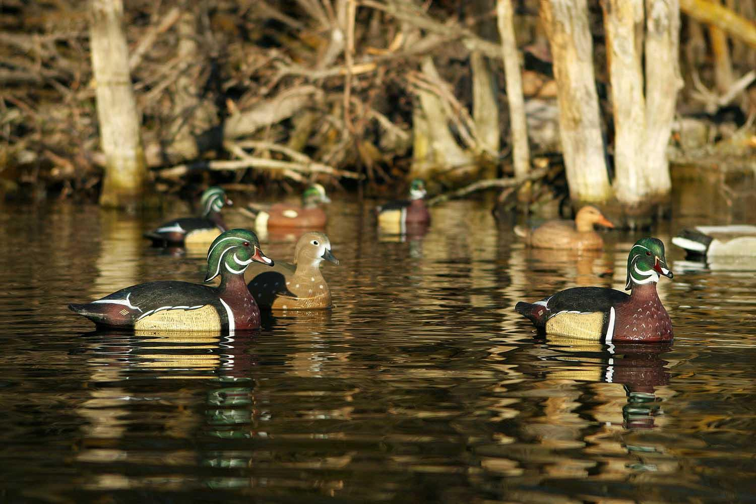 Avery GHG Life-Size Wood Ducks, 6 Pack_4.jpg