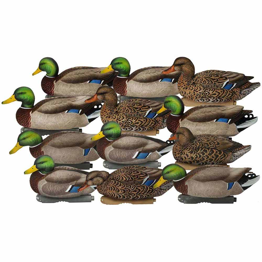 Avery GHG Pro-Grade XD Series Mallards, Harvesters 12 Pack_1.jpg