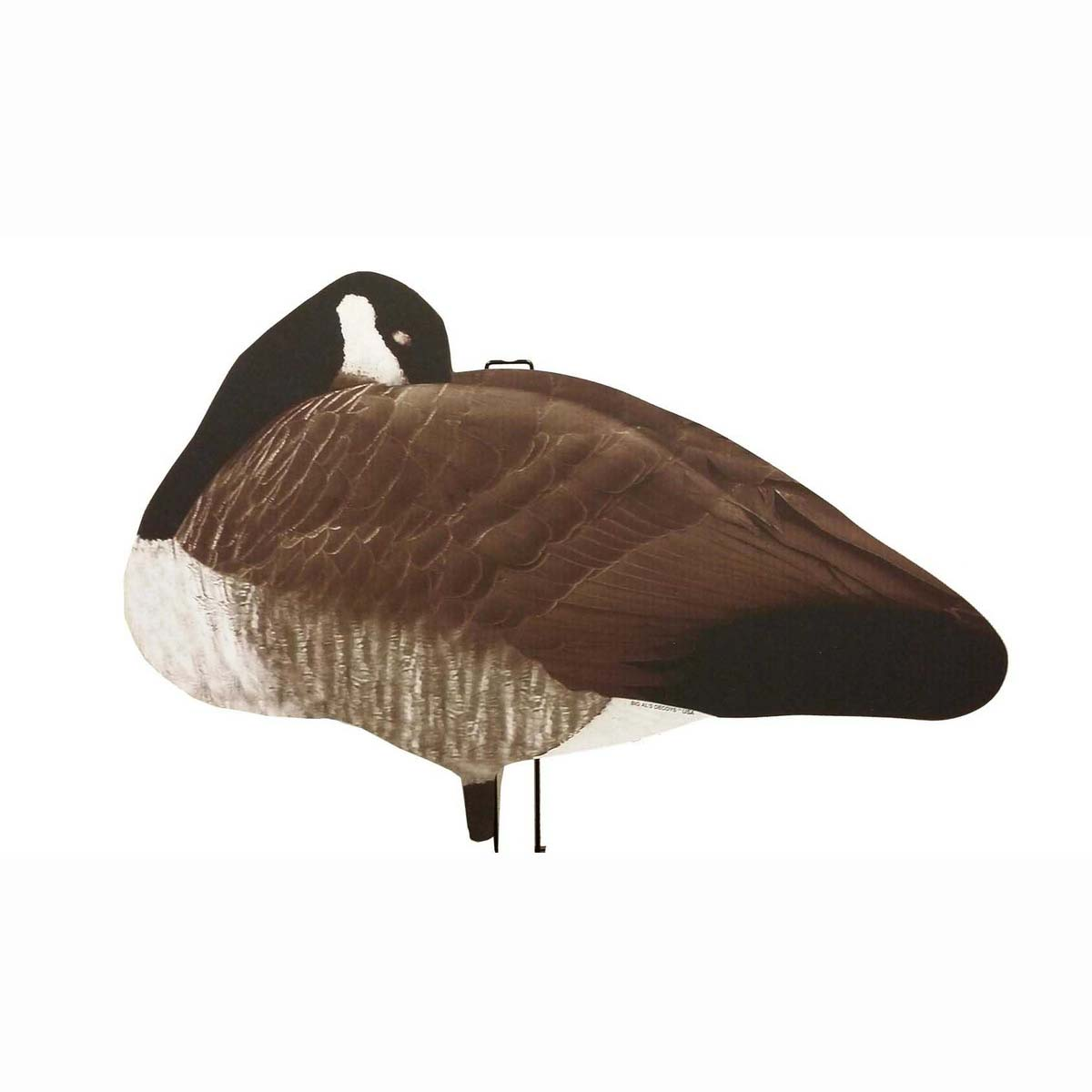 Big Als Decoys Greater Canada Goose Sleeper Silhouettes, 12 Pack