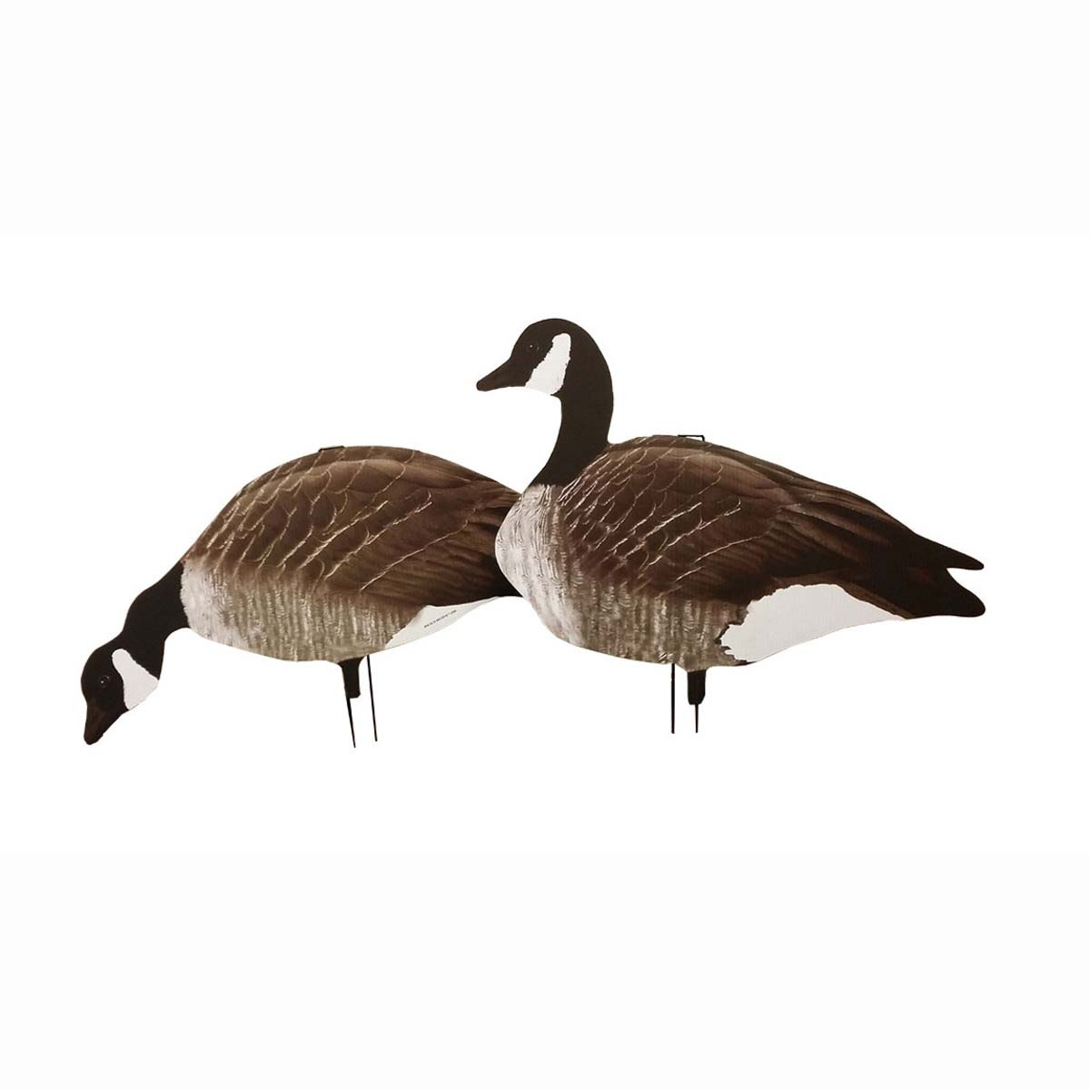 Big Als Decoy X14 Greater Canada Goose Silhouettes, Pack of 14