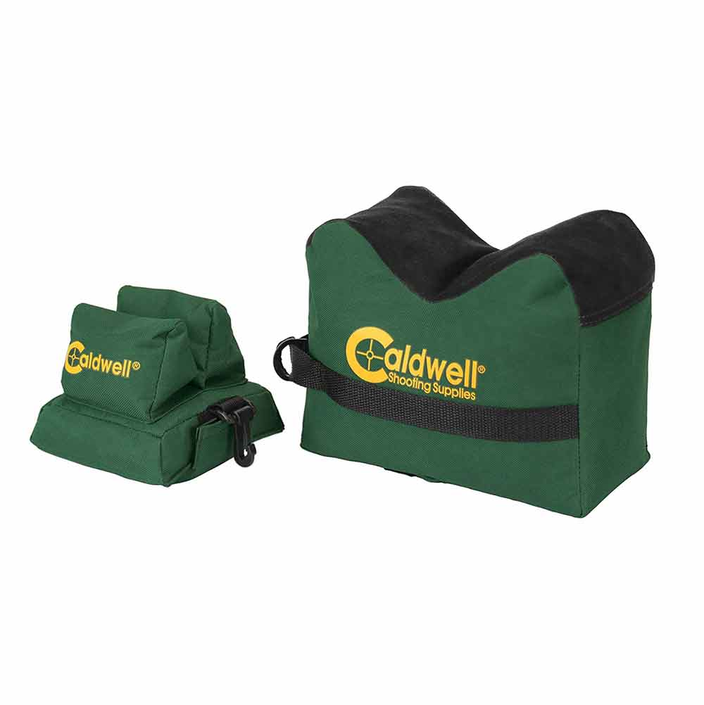 Caldwell DeadShot Box Combo Front And Rear Bag - Filled