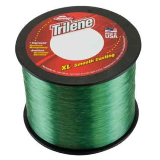 Berkley Trilene XL Monofilament Line Test 17 Lb Color Lo-Vis Green Size Small Bulk