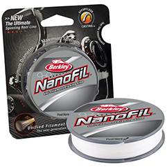 Berkley NanoFil Fishing Line Clear Mist