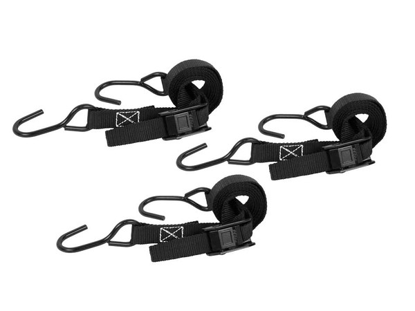 Big Game Cam Buckle Strap, Pack of 3