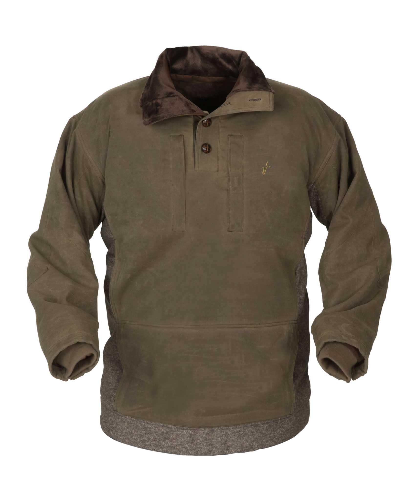 Avery Heritage Waterfowl Sweater, Olive Drab
