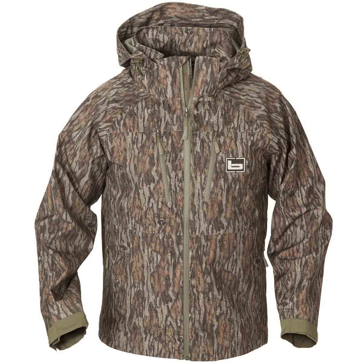 d7b7d9c22d7ce Banded Feather Stretch Shell Jacket, Mossy Oak Bottomland