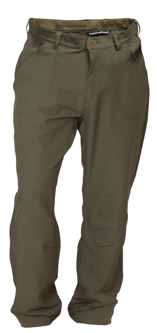 Banded Stretchable Swag Pant-Spanish Moss