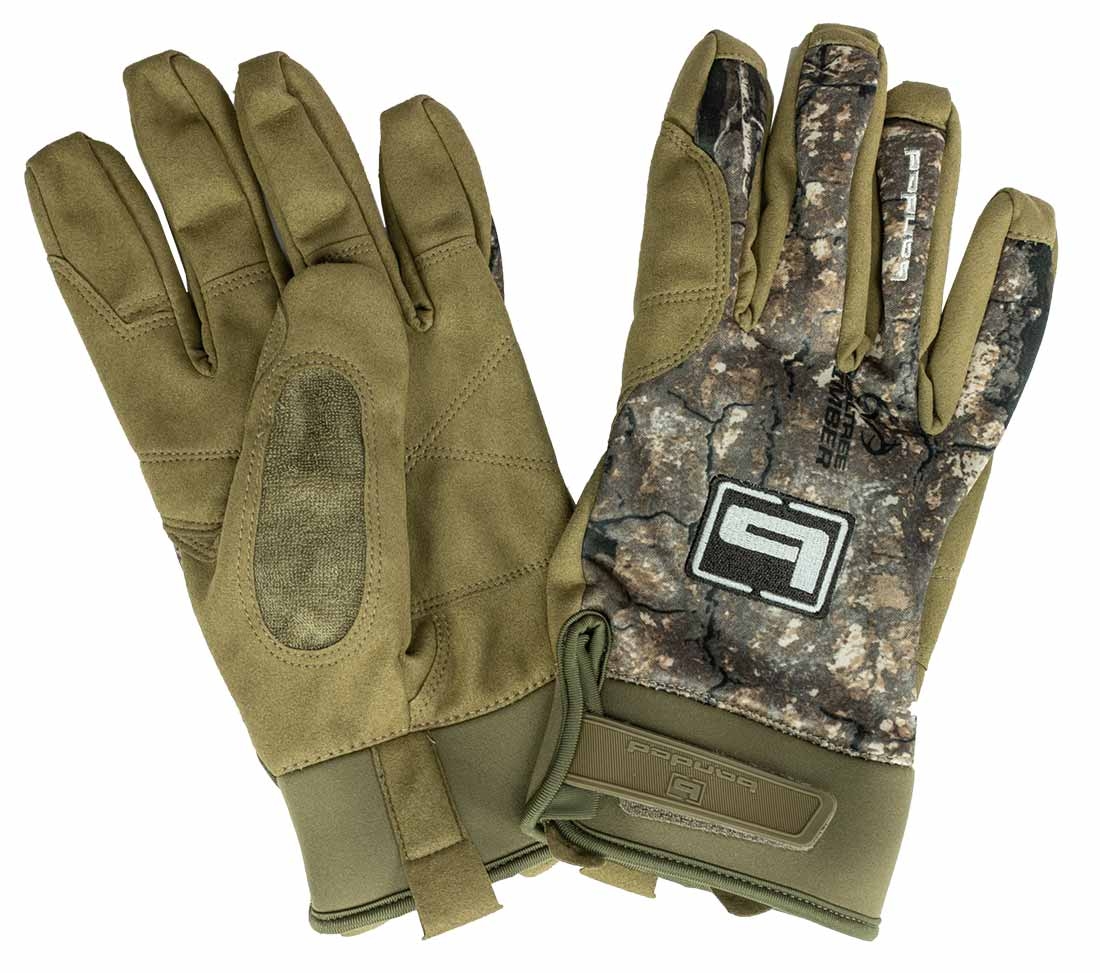 Banded Soft Shell Blind Glove - Timber