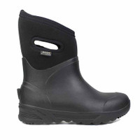 BOGS Bozeman Mid Insulated Waterproof Boots, Black