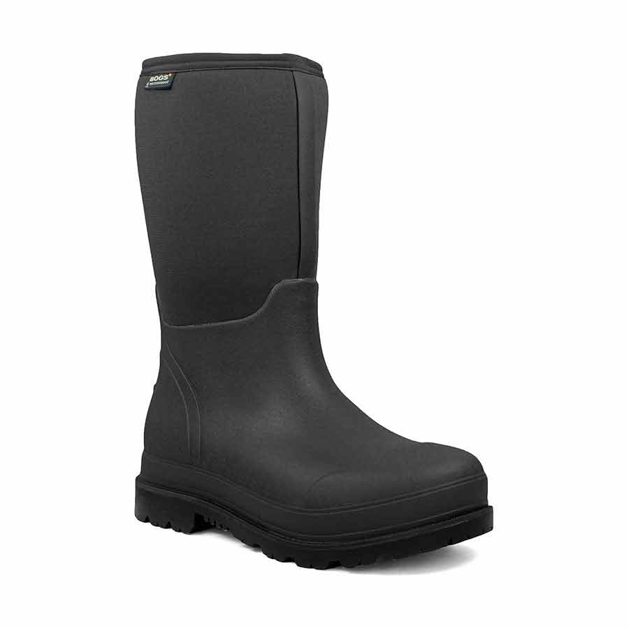BOGS Stockman Composite Toe Insulated Tall Work Boot, Black