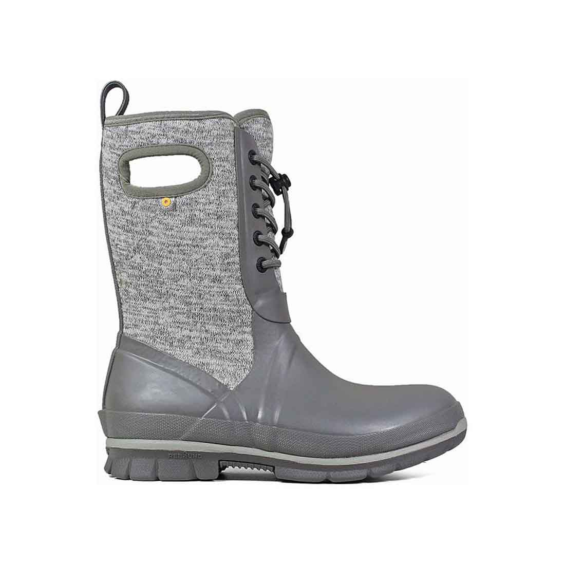 BOGS Crandall Lace-Up Knit Boot - Gray_1.jpg