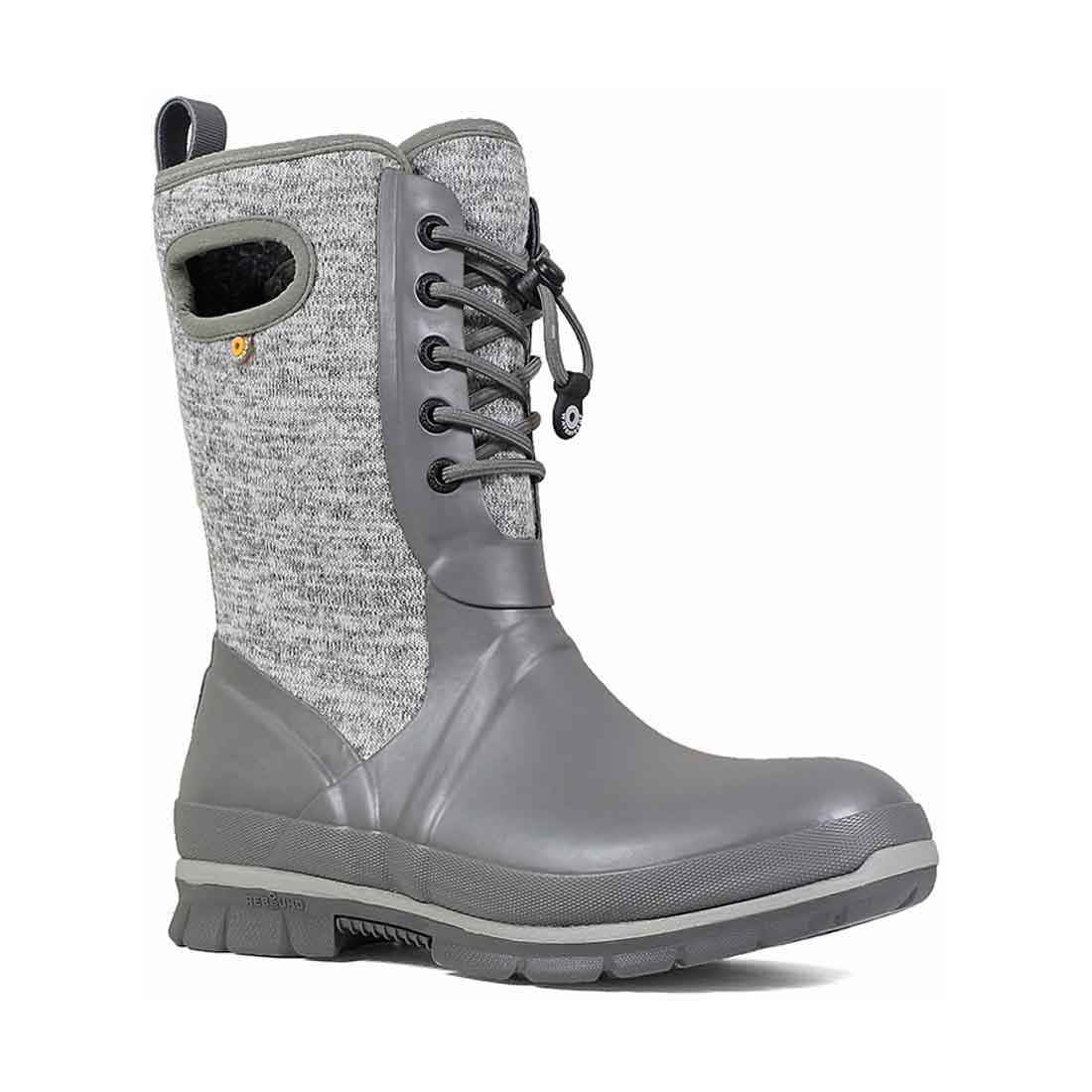 BOGS Crandall Lace-Up Knit Boot - Gray_2.jpg