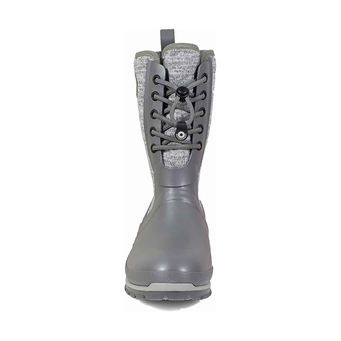BOGS Crandall Lace-Up Knit Boot - Gray_3.jpg