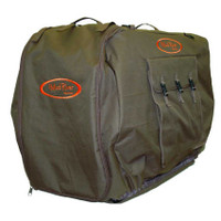 Mud River Bedford Uninsulated Kennel Cover, Brown