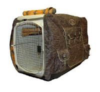 Mud River Ducks Unlimited Insulated Kennel Cover, Shadow Grass Blades