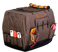Mud River Dixie Insulated Kennel Cover, Brown