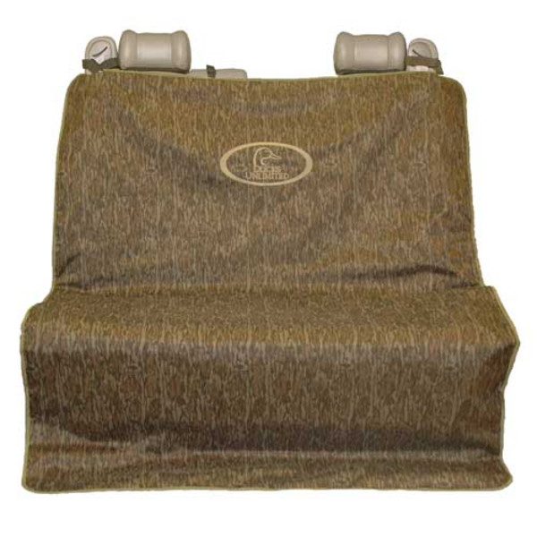 Ducks Unlimited Two Barrel Double Seat Cover, Bottomland