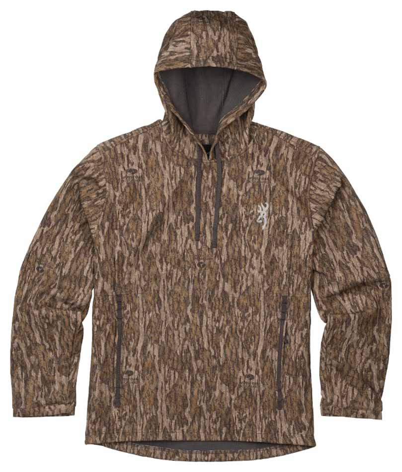 Browning Wicked Wing Smoothbore Hoodie, Mossy Oak Bottomland