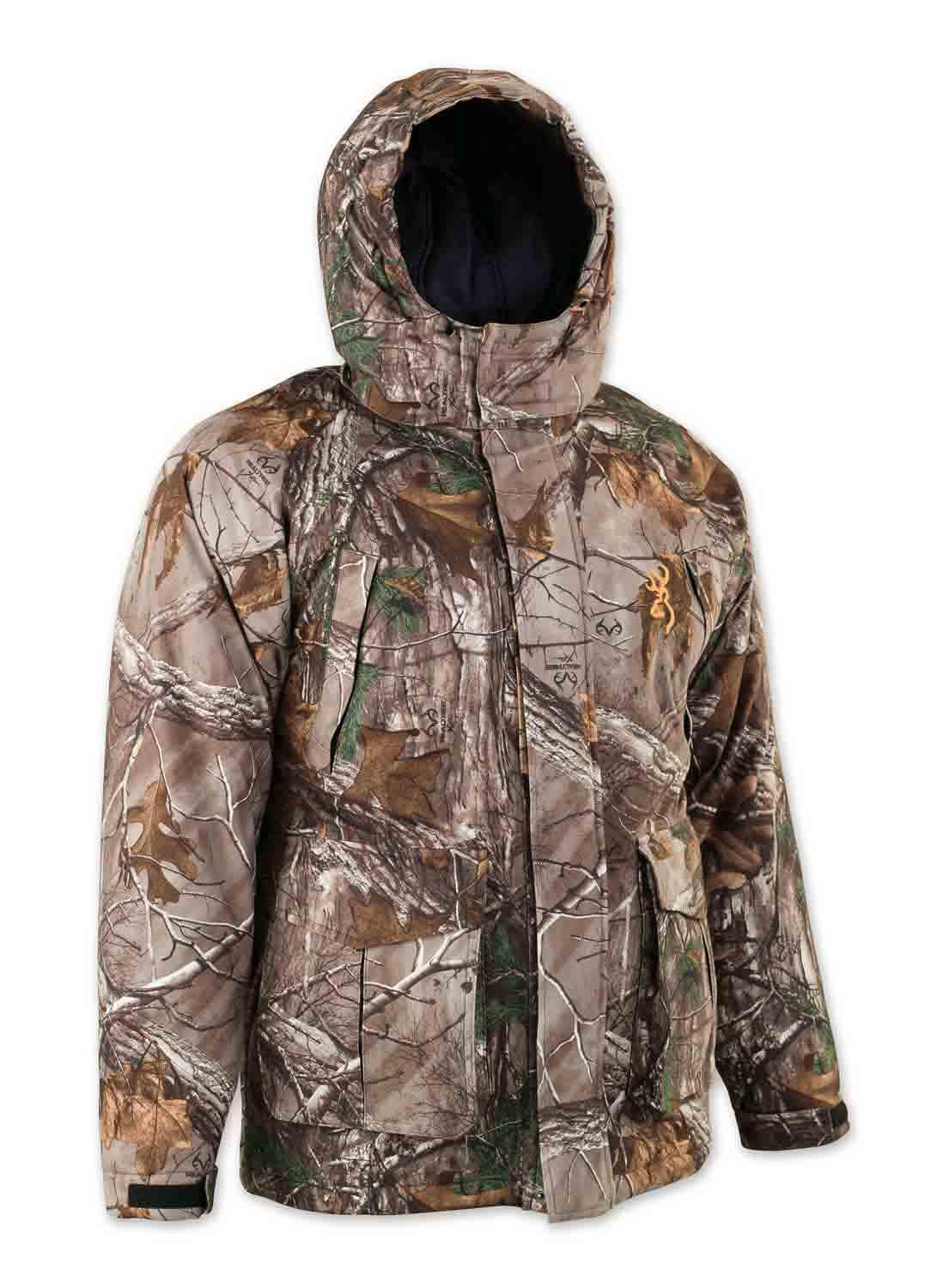 Browning Wasatch Insulated Rain Parka in Realtree Xtra