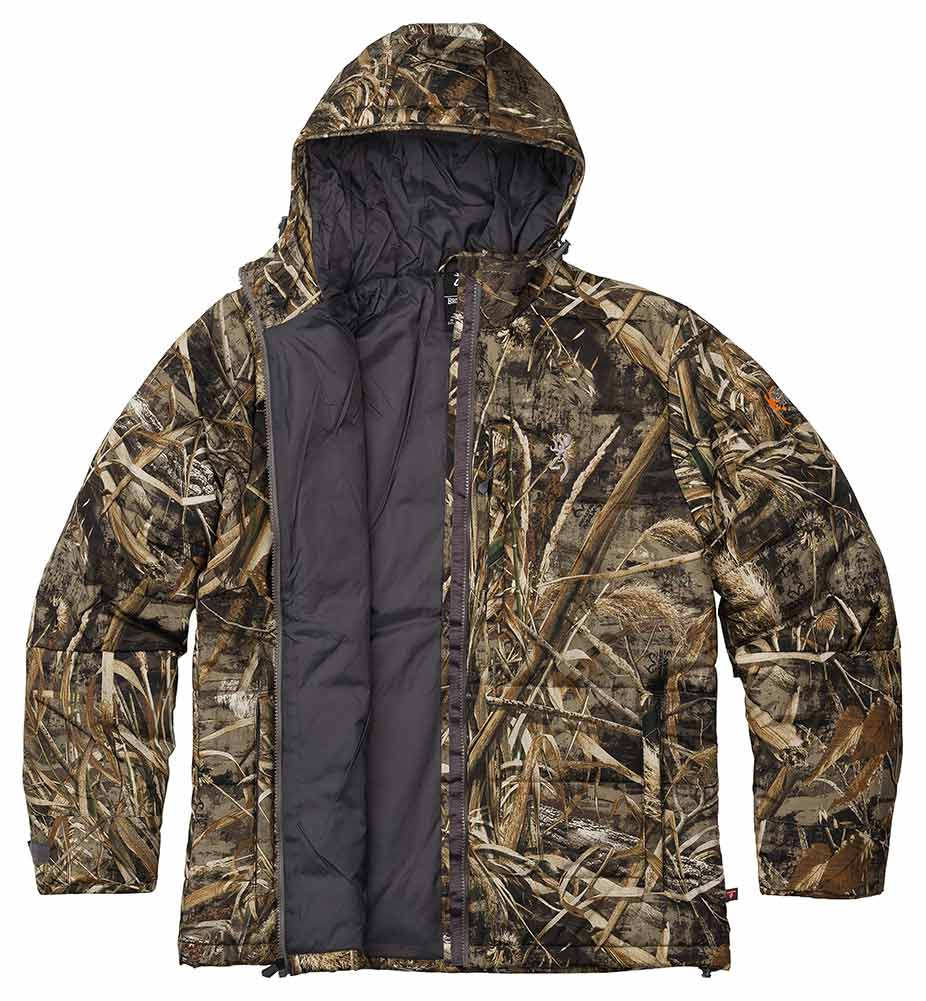 Browning Wicked Wings Super Puffy Parka, Realtree Max 5