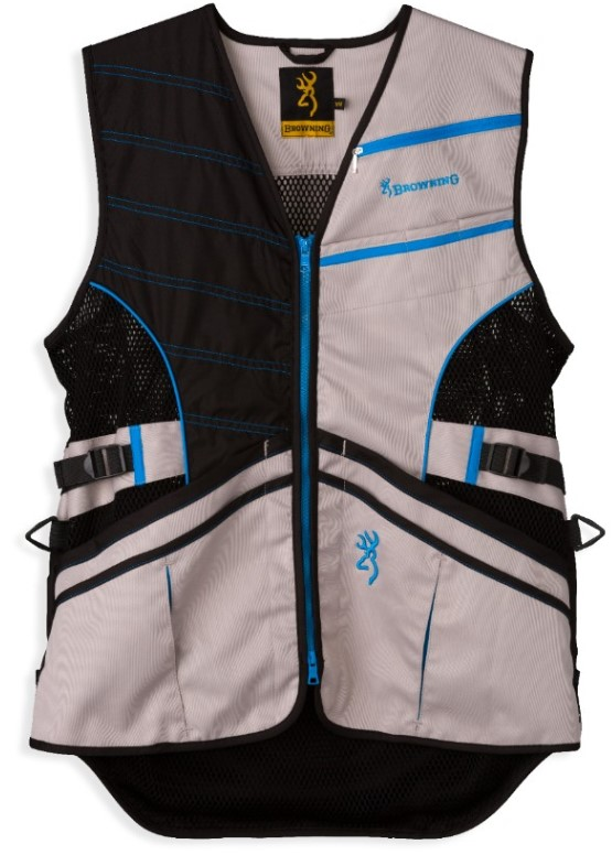 Browning Ace Shooting Vest - Blue