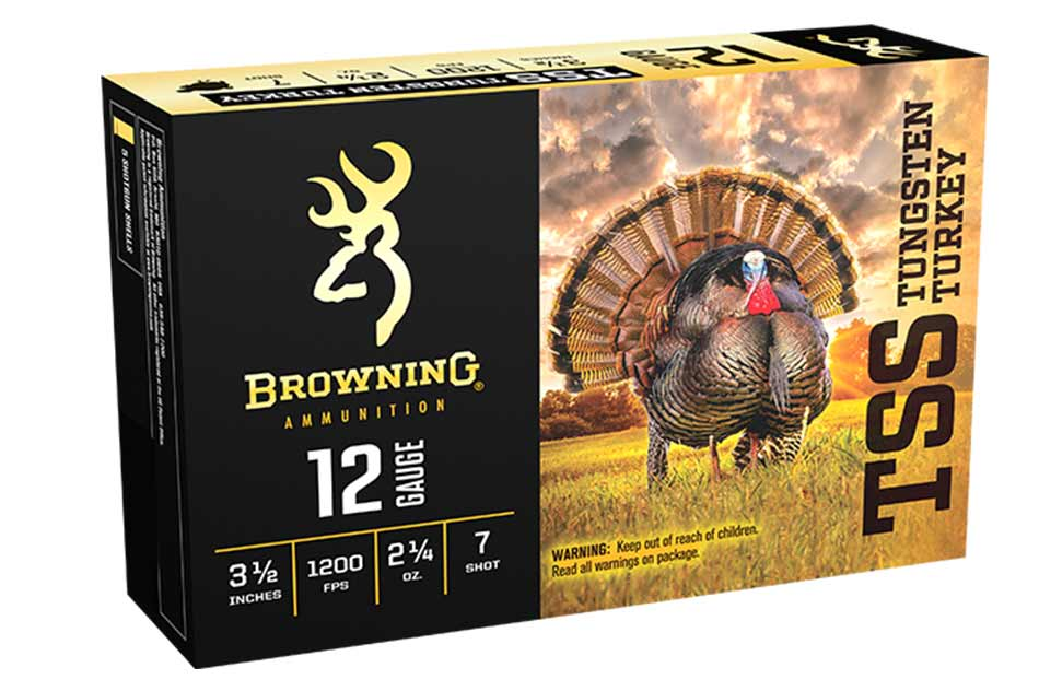 "Browning TSS Tungsten Turkey Loads, 12GA 3.5"" 2 1/4 oz"