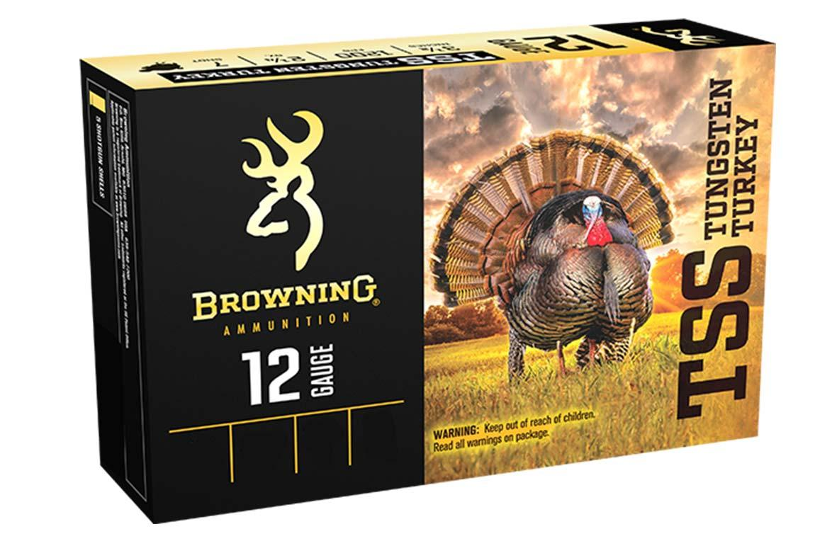 "Browning TSS Tungsten Turkey Loads, 20 Gauge 3"" 1 1/2OZ 1200FPS, Shot Size 7&9"