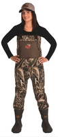 Caddis Women's Waterfowl Neoprene Wading System with Bootfoot, Realtree Max 5