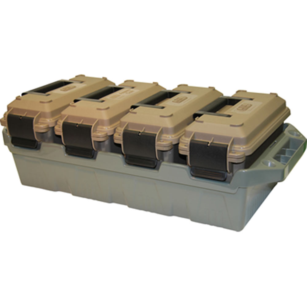 Case Gard 4-Can Ammo Crate
