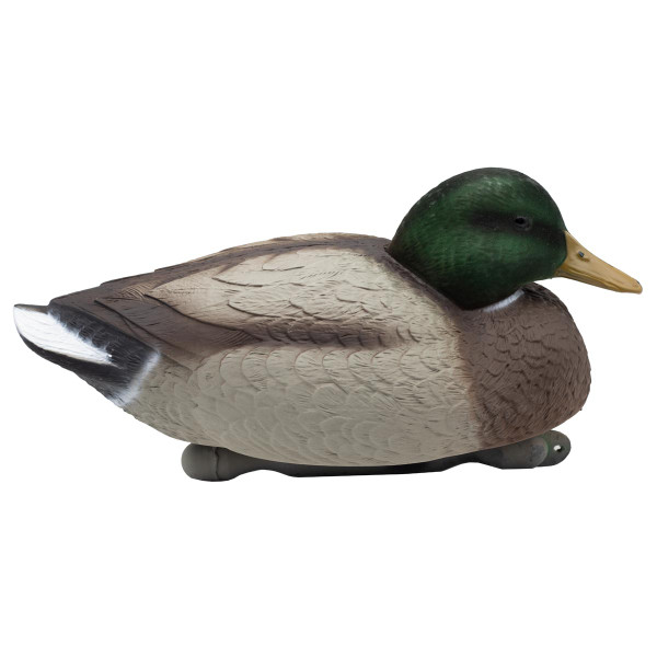 Big Foot Mallard Floaters with Flocked Heads - 6 Pack