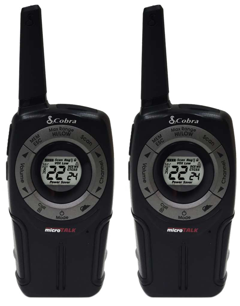 Cobra PR562 32-Mile Bluetooth Walkie Talkies, Pack of 2