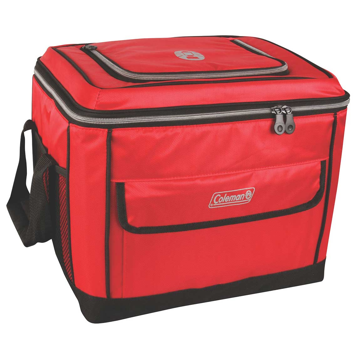 Coleman 40 Can Collapsible Cooler, Red