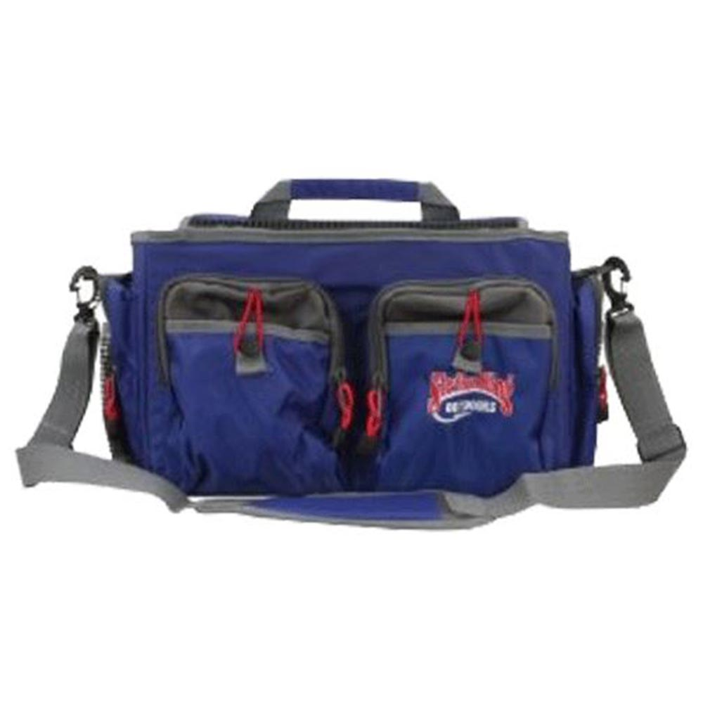 Strike King Pro Grade Top Loading Tackle Box with Four 1400 Series Organizers