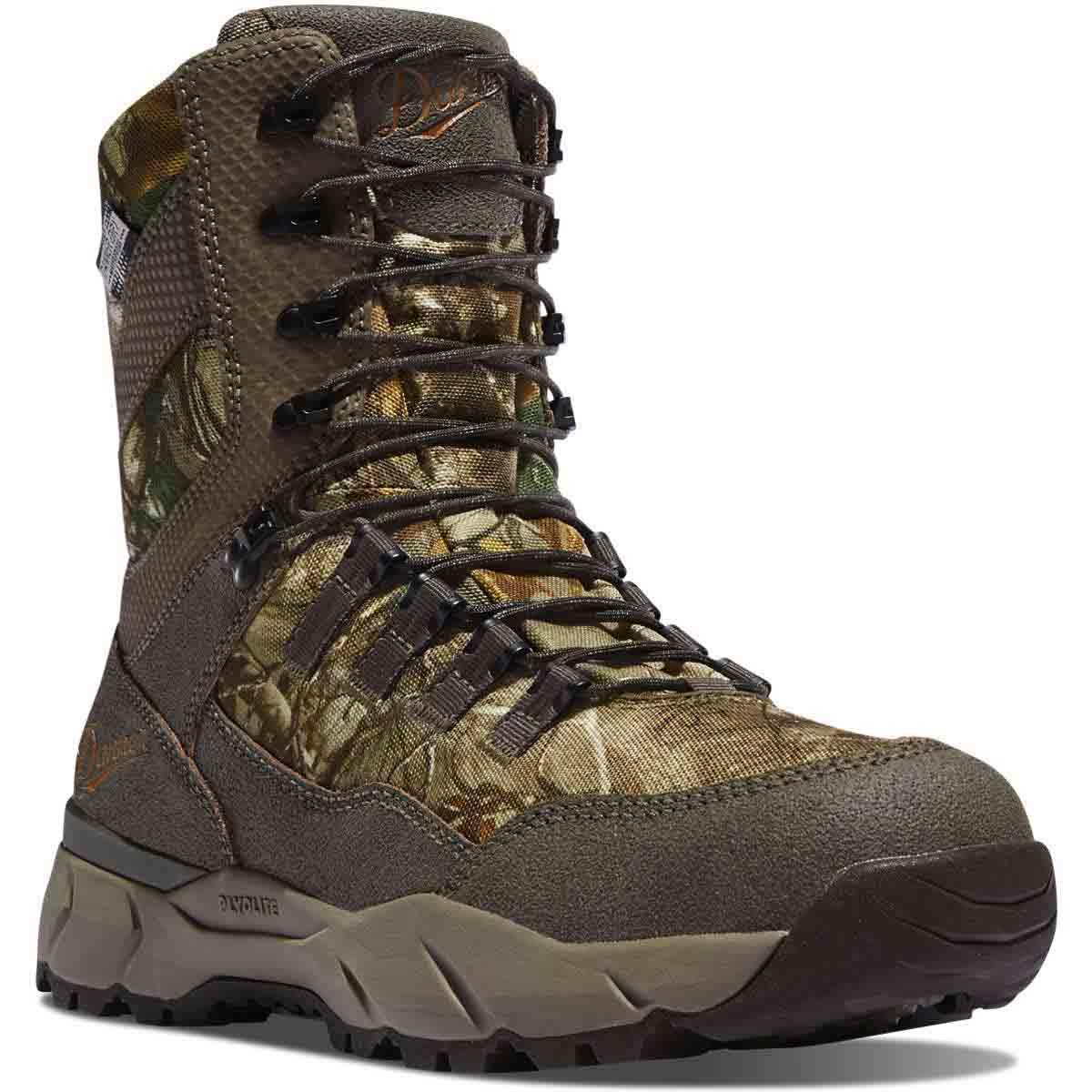 """Danner Vital 8"""" Realtree Xtra Insulated 800G Hunting Boots"""