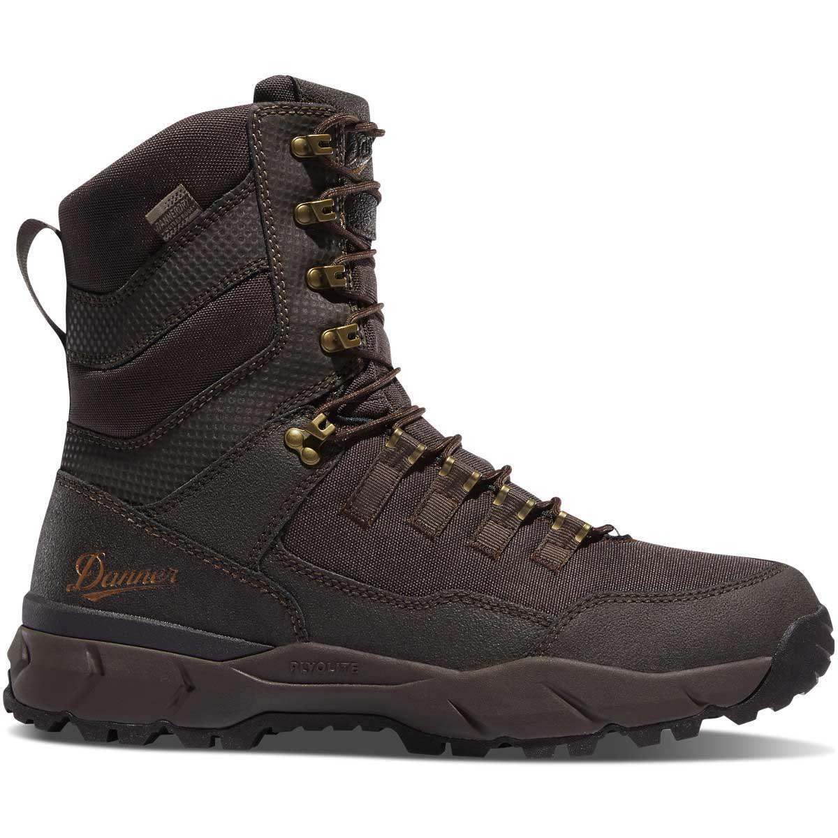 """Danner Vital 8"""" Brown Insulated 400G Hunting Boots_1.jpg"""