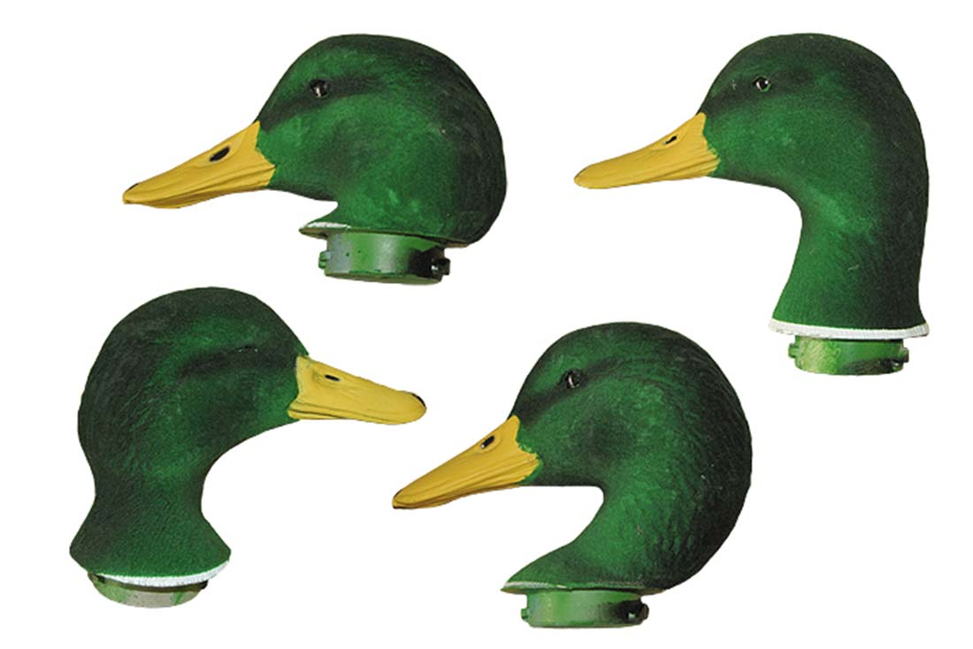 Dakota Decoys Mallard Duck Decoy Replacement Flocked Heads, Pack of 7_1.jpg