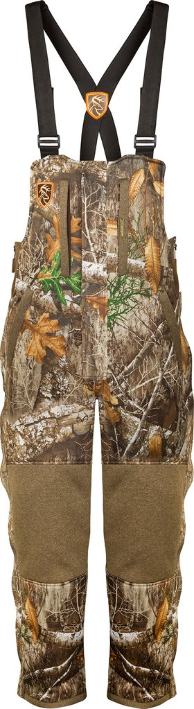 Drake Silencer Bib - Realtree Edge