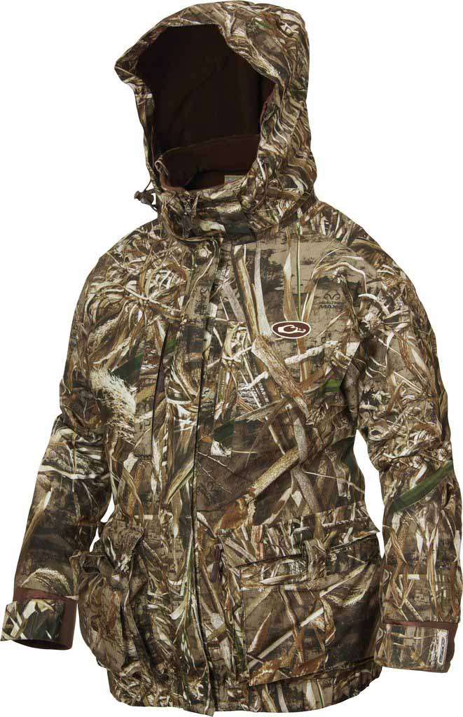 Drake Women's LST Eqwader 3-in-1 Plus 2 Wader Systems Coat - Realtree Max-5