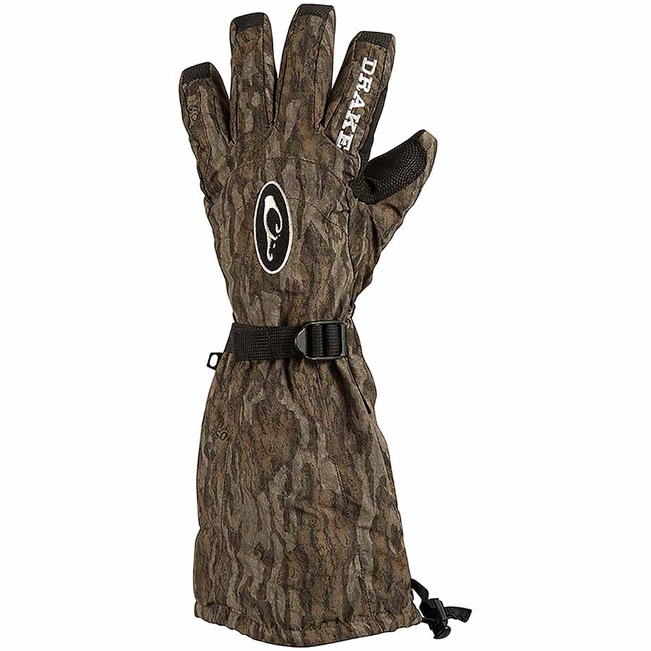 06fb71a711879 Drake MST Refuge HS GORE-TEX Double Duty Decoy Gloves, Mossy Oak Bottomland