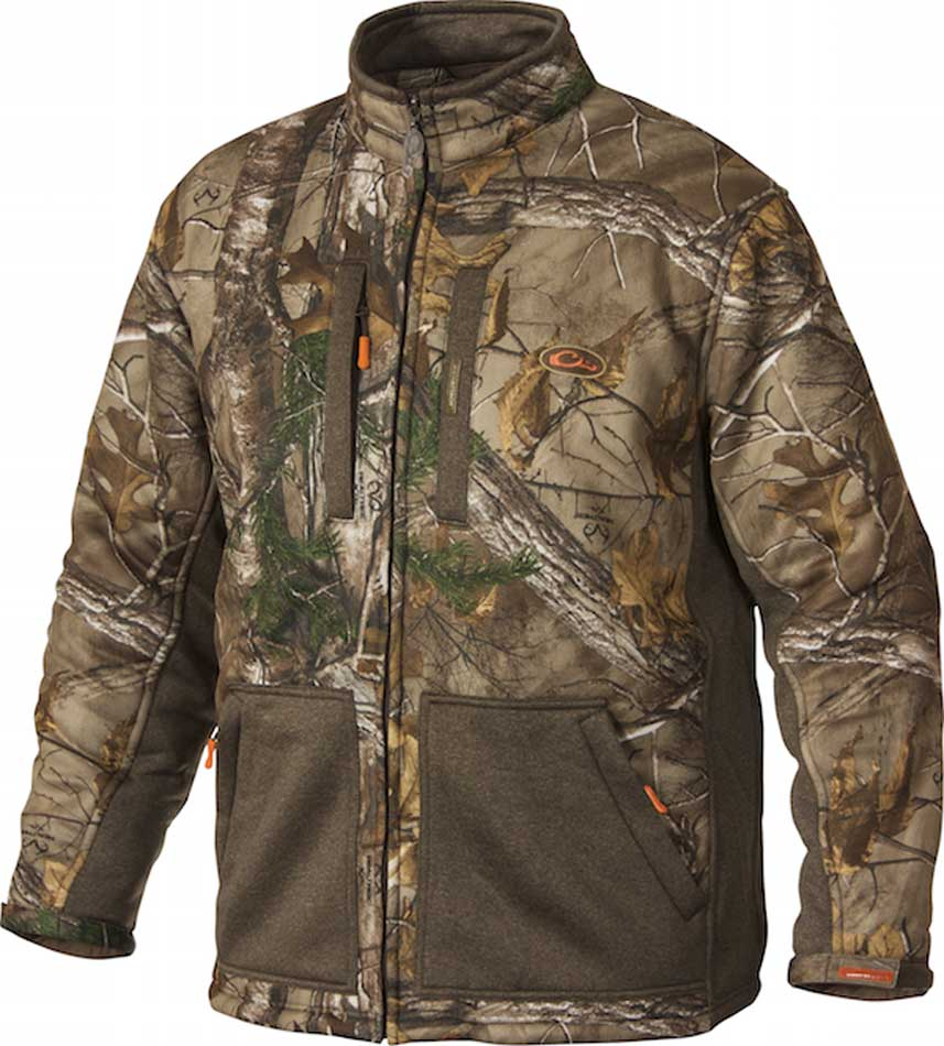 3325e5d8b17d6 Drake's Non-Typical Silencer Soft Shell Jacket, Realtree Xtra with ...