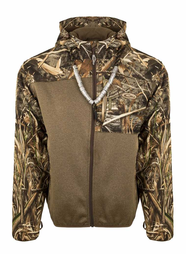 Drake MST Endurance Full Zip Hybrid Liner with Hood - Realtree Max 5_1.jpg