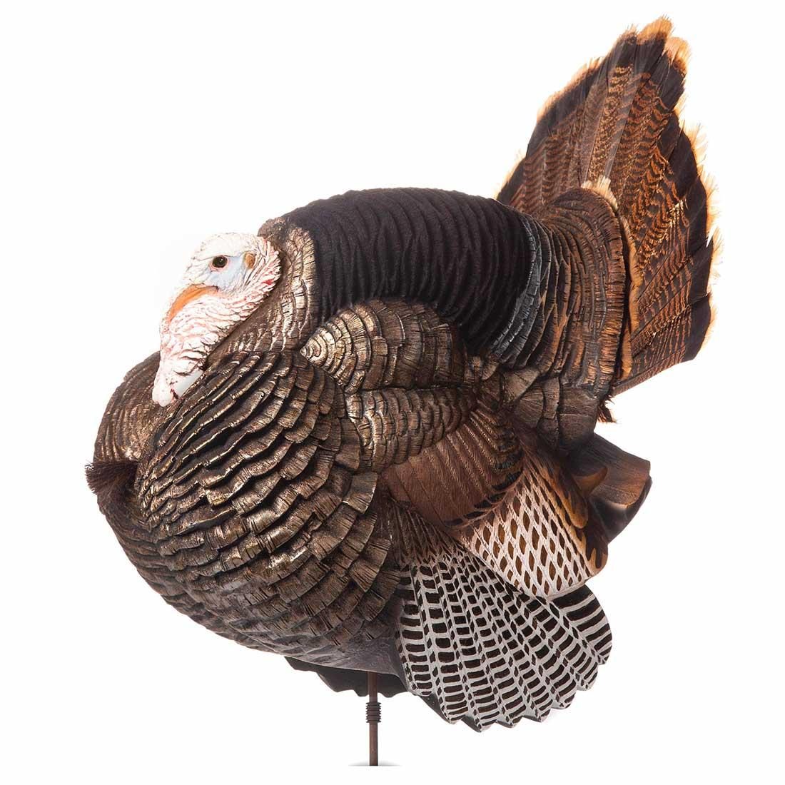 Dave Smith Full Strut Jake White Face Turkey Decoy_1.jpg